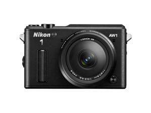 Nikon 1 AW1 Black 14-megapixel Digital Camera w/ AW 11-27.5mm