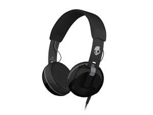 Skullcandy Grind Black/Black/Gray On-Ear Headphones (S5GRHT-448)