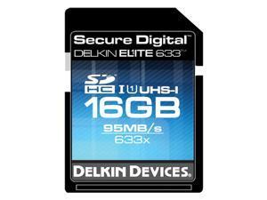 Delkin Devices DDSDELITE633-16GB 16GB SDHC UHS-I Memory Card