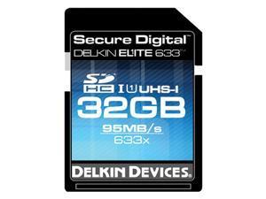 Delkin Devices DDSDELITE633-32GB 32GB SDHC UHS-I Memory Card