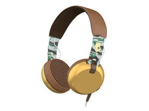Skullcandy Grind Scout Camo/Brown/Gold On-Ear Headphones (S5GRHT-492)