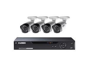 Lorex LHV21081TC4B 8-Channel Mpx 1080P Hd 1Tb Dvr With 4 Weatherproof Ir Cameras