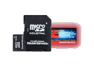 Delkin Devices DDMSD32G-AT 32GB Micro SDHC UHS-1 with Action Tote