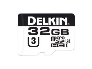 Delkin Devices DDMSD66032G2 32GB MicroSDHC UHS I Class 3 Memory Card