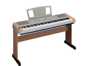 Yamaha DGX640 C Cherry 88-Key Digital Piano Keyboard+Stand+Adapter+Notes Stand NEW