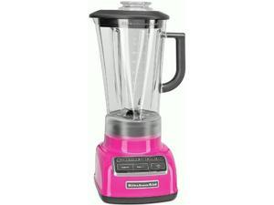 New USA KitchenAid Diamond Pitcher Vortex 5-Speed Blender KSB1575PK Pink