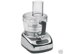 KitchenAid Large 9 Cup Big Food Processor KFP740cr Beautiful Chrome W/Mini Bowl Manufactuer Refurbished