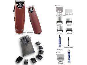 NEW Oster Fast Feed + T-Finisher + 10pc Combs Clipper Combo