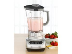 KitchenAid Metallic Chrome 5-Speed Blender ksb560mc unbreakable Jar Poly Carbon Manufactuer Refurbished