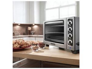 "KitchenAid STEEL 12"" Convection Countertop Toaster Oven MODEL KC0223CU Manufacturer Refurbished"