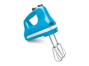 KitchenAid KHM512CL 5-Speed Ultra Power Hand Mixer Crystal Blue