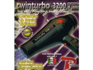 Turbo Power Twin Turbo 3200 Hair Dryer black Professional Power Pro Long Life