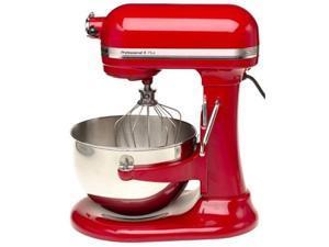 KitchenAid KV25GOXER Professional 450 Watt 5™ Plus Series 5 Quart Bowl-Lift Stand Mixer Empire Red