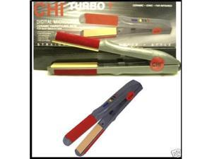 "New Chi Digital Microchip Turbo 1"" Flat Iron Ceramic Microchip"