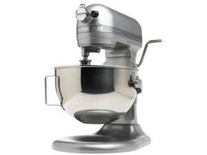 Kitchenaid Stand Mixer 450-W 10-Speed 5 Quart R-Kg25hOXMC Metalic Chrome All Metal Manufacturer Refurbished