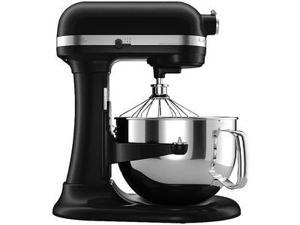 Kitchenaid R-KP26M1Xob Pro 600 Stand Mixer 6 qt Black Big Capacity 6000 Special ed Manufacturer Refurbished