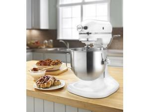 KitchenAid HEAVY DUTY pro 500 Stand Mixer Lift R-ksm500pswh Metal 5-qt WHITE Manufacturer Refurbished
