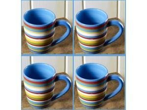 (4) TWO AND A HALF MEN COFFEE MUGS cups Allen's Mug
