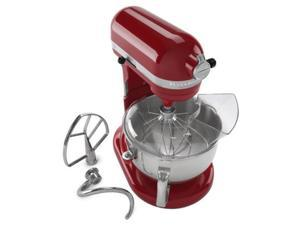 KitchenAid Pro 600 Rksm6573er Stand Mixer 10-speed EMPIRE RED Professional heavy duty (Refurbished)