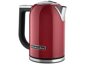 New Kitchenaid Stainless Steel Digital Display Electric Variable Temperature Water Kettle KEK1722ER Empire Red