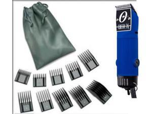 Oster Classic 76 Exclusive Velvet Blue limited edition clipper + 10 Combs