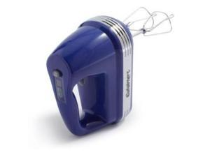 Cuisinart HM-70BSLT Blue 220-w Power Advantage 7-Speed Hand Mixer+Whisk+Spatul
