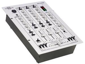 Stanton RM-3S DJ Mixer Techno Dance Style 3 Channel 6 line 3 phono 2 mic inputs