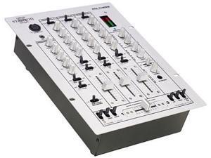 Stanton RM-3S DJ Mixer Techno Dance Style 3 Channel 6 line 3 phono 2 mic inputs