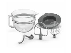 KitchenAid  KSMF6GB  6 Quart Glass Bowl Acsy Bundle