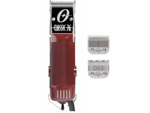 Oster Classic 76 Hair Clipper – FACTORY REFURBISHED w/ NEW #000 and #1 Blades