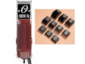 Oster Classic 76 Hair Clipper – FACTORY REFURBISHED w/ NEW 10-piece Comb Guides