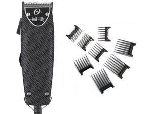Oster Professional Carbon Fiber Fast Feed Professional Clipper + Free 8-pc comb