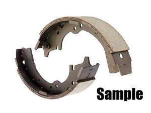 Centric Parts 112.03570 Riveted Drum Brake Shoes