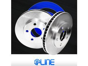 """[2 REAR] ELINE """"O.E. FACTORY REPLACEMENT"""" DISC BRAKE ROTORS RX16088"""