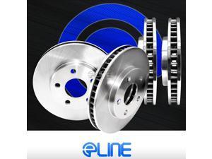 Brake Rotors FRONT+REAR ELINE O.E BLANKS - Toyota VENZA 2009 - 2011