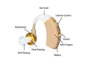 Digital Hearing Aids - Behind The Ear Design (Two Pack)