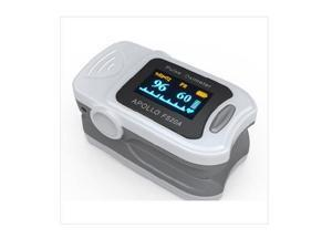 Fingertip Pulse Oximeter with Color OLED Screen - FDA and CE Approved Portable SpO2 and Pulse Rate Monitor (Accurate Medical Model FS20A)
