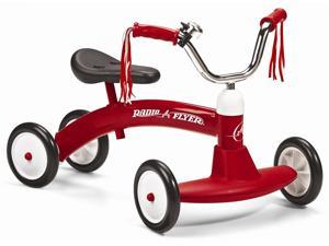 Kid's Scoot-About Tricycle w Classic Red Frame