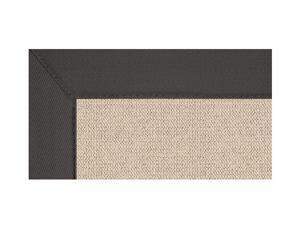 Area Rug with Natural Grass Inspiration in Wool