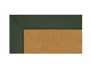 Rectangular Area Rug with Casual Style Color Trim