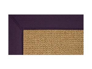Rectangular Shape Rug with Jute Backing and Casual Design