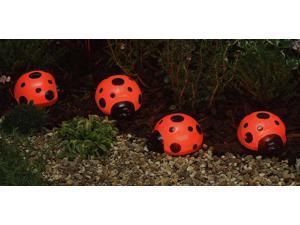Solar Ladybugs - 4 Pc Set