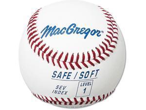 Training Baseball - MacGregor Safe/Soft Level 1, One Dozen