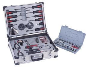 Aluminum 101 Piece Tool Kit in Silver