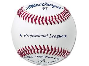 Professional League Baseballs - MacGregor 97 Leather, Dozen Pack