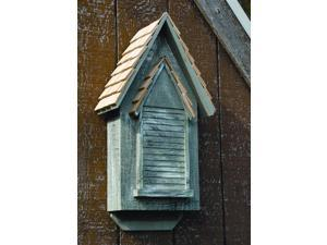 Victorian Bat House in Grey Whitewash