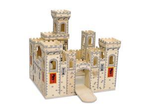 Wooden Medieval Castle Toy