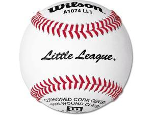 Little League Baseballs - Wilson Tourney Doz., RS-T Stamped - Set of 12