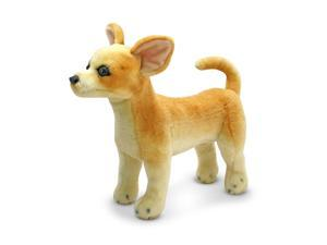 Plush Chihuahua Stuffed Animal in Fawn Color