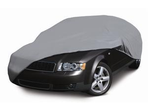 Deluxe Four Layer Car Cover in Grey (Full Size)